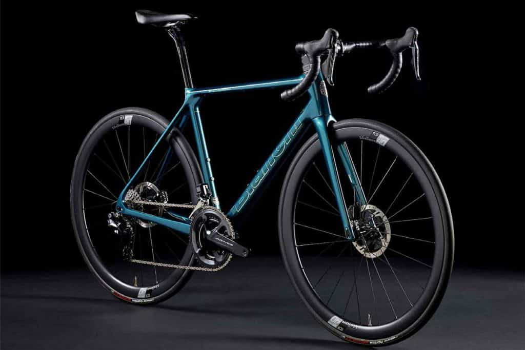Criterium Cycles 2021-Bianchi-Specialissima-CV-lightweight-road-bike_Countervail-light-stiff-carbon-disc-brake-road-race-bike_angled
